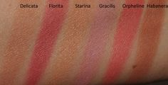 Original Skin Blush FOR LOVE OF ROSES 'Delicata', 'Florita', 'Starina', 'Gracilis', 'Orpheline', 'Habanera'