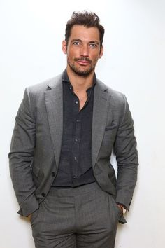 [14/03/16] - 'The Art of Male Beauty': David Gandy and his good friend, menswear designer, Patrick Grant, discuss the modern day boom in male grooming and beauty at the Glamour Beauty Fest 2016