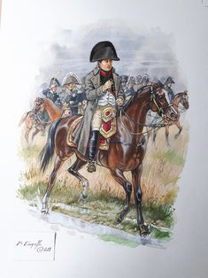 Anime Military, Military Art, Native American History, British History, Bataille De Waterloo, Army Drawing, Etat Major, French Army, Toddler Art