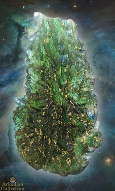Perfect Museum Grade Moldavite Comet from Bohemia, Czech Republic! | Arkadian Collection