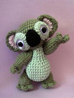 Amigurumi pattern Monty the Koala by Lapetite2101 on Etsy, $4.00