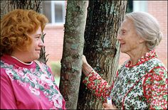 Kathy Bates and Jessica Tandy (Evelyn and Ninny)  Still one of my favorite movies!!!