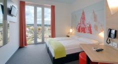 Zweibettzimmer im B&B Hotel Ulm