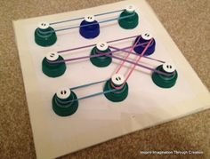 Inspire imagination through creation: Making a geoboard...great for beginner use