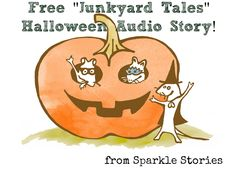 Free Story, new Audio Books -- all for Halloween!  from Sparkle.