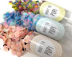 Bridesmaid Proposal Will you be my bridesmaid. Push Pop Confetti, Confetti Poppers, Paper Confetti, Will You Be My Bridesmaid, Bridesmaid Proposal, Gender Reveal, Biodegradable Products, New Baby Products, Create Yourself