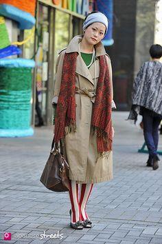 Harajuku street fashion | 121104-4884 - Japanese street fashion in Shibuya, Tokyo