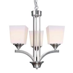 Style selections arctura 17 in 3 light brushed nickel industrial style selections arctura 17 in 3 light brushed nickel industrial abstract chandelier home me pinterest brushed nickel industrial and chandeliers aloadofball Image collections