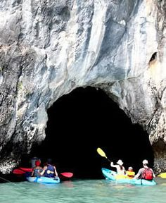 Exploring caves in Koh Lanta  http://www.travelnation.co.uk/beaches-of-southern-thailand