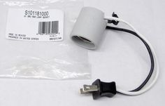 Broan Nutone Light Lamp Socket S101181000 for Bath Fan 763RLN and 769RN