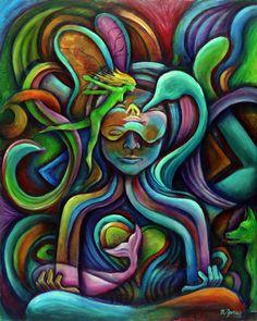 Meditation Art  Matt Jones