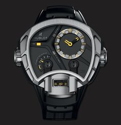 Hublot Masterpieces MP-02 Key of Time Titanium  watch - KdS!