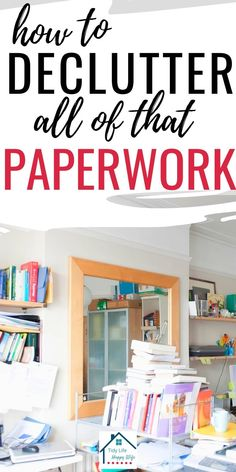 Organizing Important Papers, Organizing Paperwork, Clutter Organization, Household Organization, Home Office Organization, Paper Organization, Organizing Paper Clutter, Organizing Documents, Office Storage