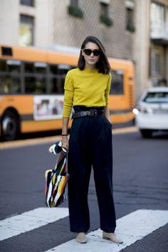 898092a0f712 Street style Milan   et si on s inspirait d un street style à Milan pour  piquer des idées mode à adopter dès maintenant