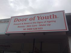 Door of Youth Beauty Salon Retail outlet now open