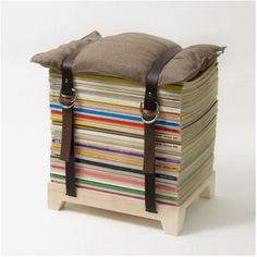 Le recyclage de magazine en mobilier