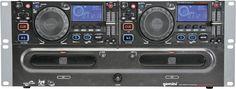 Gemini Dual CD Player with Graphics Output Dj Gear, Dj Equipment, Gemini, Graphics, Twins, Graphic Design, Printmaking, Twin, Gemini Zodiac