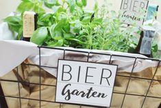 [DIY] Biergarten - Ein Geschenk zum Geburtstag - inkl. Druckvorlage - trashtortendesign.de