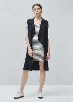 Fitted dress | MANGO