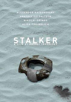 Stalker (1979) ~ Minimal Movie Poster by Daniel Keane #amusementphile
