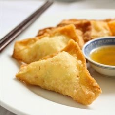 Crab Rangoon or Cheese wonton is one of the Chinese takeout favorites. These crispy and creamy appetizers are easy to make at home.