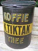K. Tik Tak koffie/thee