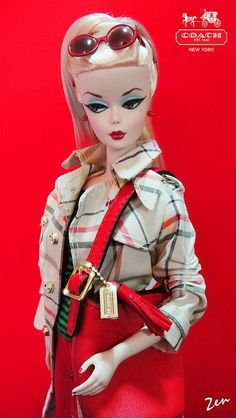 Coach Barbie (featuring Silkstone | Flickr - Photo Sharing!
