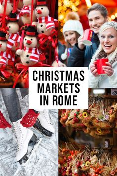 BEST Christmas Markets in Rome! Christmas Markets In Rome: The Ultimate Guide Christmas Markets Europe, Christmas Travel, Christmas Fun, Holiday Travel, Camping Holiday, Xmas, Italy Travel Tips, Rome Travel, Travel Europe