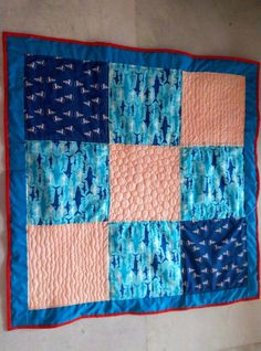 'In the sea' quilt