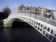 Pin Twelve: My favourite bridge to walk across everyday to work when I lived in Dublin...