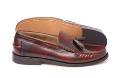 Pair of Oxblood Tassel loafers, inspired by Bass weejun £75