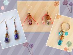 ΣΚΟΥΛΑΡΙΚΙΑ ΚΑΙ ΔΑΧΤΥΛΙΔΙΑ ΜΕ ΤΑ ΜΑΓΙΚΑ ΜΠΟΥΚΑΛΑΚΙΑ ΚΑΛΗΣ ΤΥΧΗΣ ~ Exairetico #rings #earrings #magic bottles