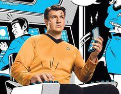 Nathan Fillion Captain Kirk William Shatner http://www.tor.com/blogs/2014/07/nathan-fillion-captain-kirk-comic-con-william-shatner