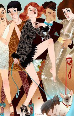 Chanel Does Louis V. by kevinwada.deviantart.com on @deviantART