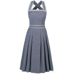 Yacht Dress denim - Dresses - AHOY! SS17 - Online Shop  - Lena Hoschek Online Shop