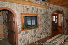 This is cool wold like a bathroom/shower made of these stones and maybe the fireplace in the great room