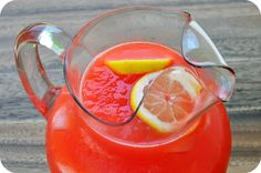 Frozen Citrus Party Punch Recipe ~ This citrus party punch is the perfect blend of sweet and tangy with a cool slushy consistency that both kids and adults will enjoy.