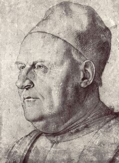 Portrait of an elderly man (Drawing), by Francesco Bonsignori