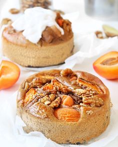 Breakfast cake with apricots and walnuts - Oh My Pie! - Breakfast cake with apricots and walnuts – Oh My Pie! Healthy Cake, Healthy Sweets, Healthy Baking, Healthy Food, Breakfast Cake, Breakfast Recipes, Tart Recipes, Snack Recipes, Good Food