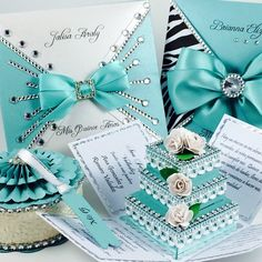 Here are the blingiest Quince invitations of the web! <3   Quinceanera invitations  