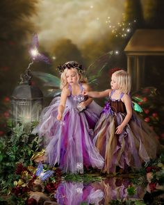 Fairy portrait - 2 girls