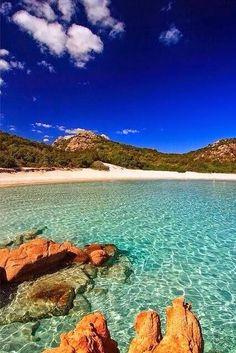 Costa Smeralda, #Sardinia #Italy
