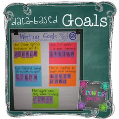 Growing Firsties: Bright Ideas - Data-Based Goal Setting