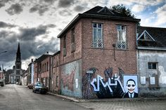 Ghost town in Belgium will lose its street art when it ceases to exist
