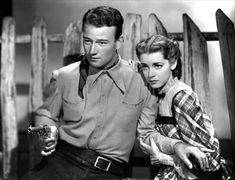 Marsha Hunt  with John Wayne in ''Born to the West''(1937)