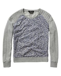Embroidered mesh sweater - Scotch & Soda