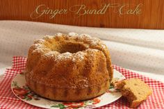 Ginger Bundt Cake
