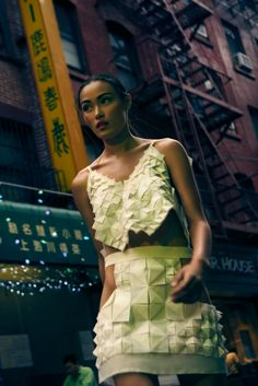 #fashion #fashionshooting #fashionphotography #3Dfashion #origami #nyc #newyork…