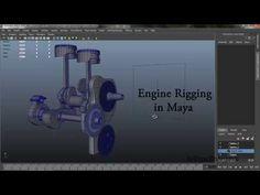 Engine Rigging tutorial in Maya - YouTube
