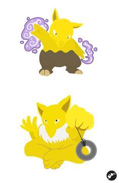 (One of my favorite Pokemon) Drowzee - Hypno by Nortiker on DeviantArt